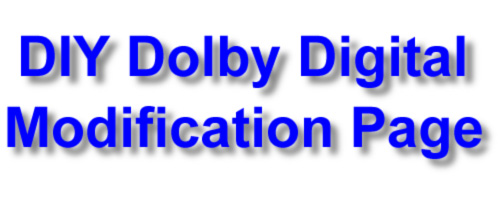 Product Review - Do-It-Yourself Dolby Digital (AC-3) Laser Disc