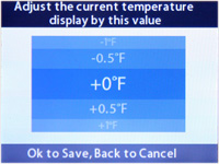Temperature Offset Correction