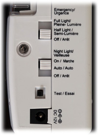 Ideal Security - Emergency Power Failure Light