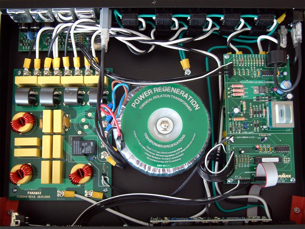 Product Review Panamax Max5500 Ex A V Line Conditioner Audio Protector Circuit