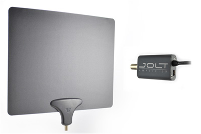 Mohu Leaf Antenna and Jolt Amplifier