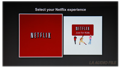Netflix Streaming on the Oppo BDP-103