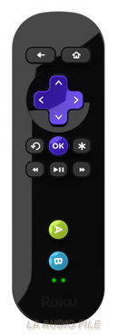 Roku 2 XS Streaming Player Remote