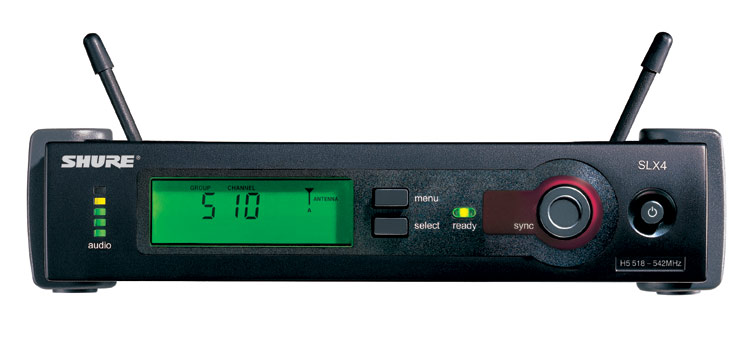 product review shure slx uhf wireless system. Black Bedroom Furniture Sets. Home Design Ideas