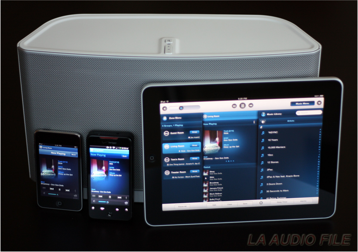product review sonos s5 zoneplayer wireless music system. Black Bedroom Furniture Sets. Home Design Ideas